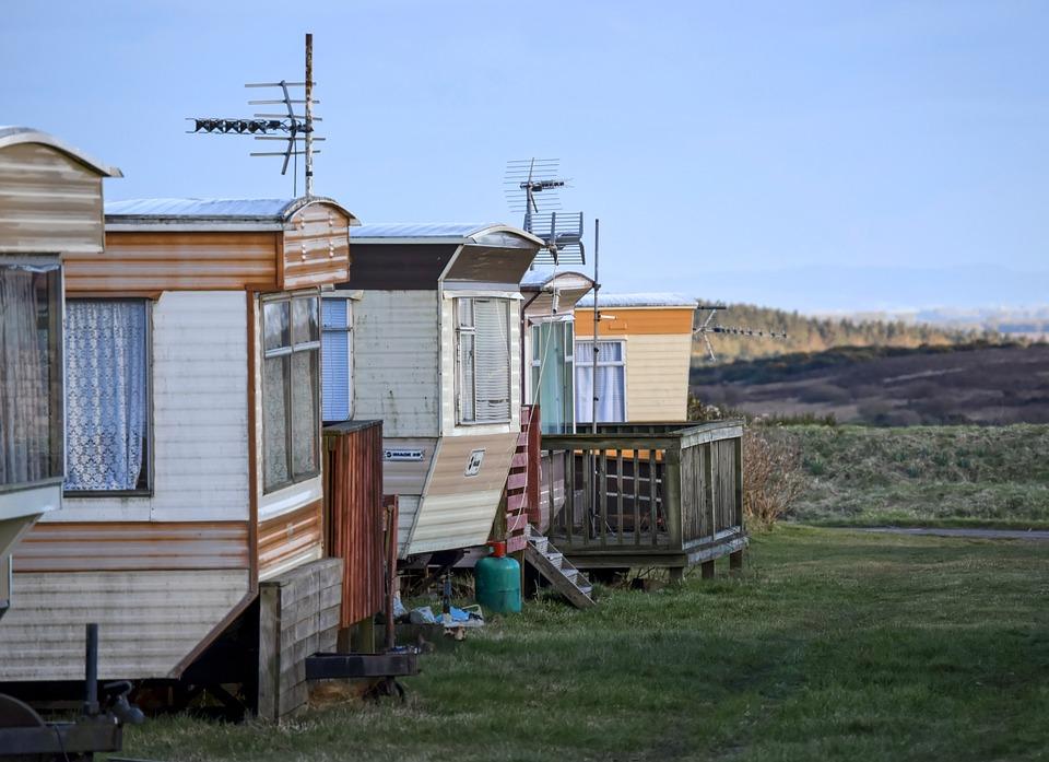 Městečko mobilních domků