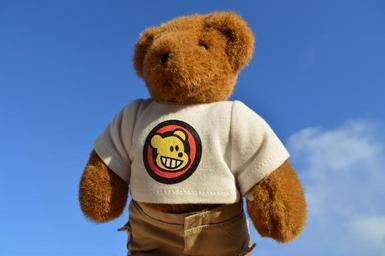 Tričko spotiskem na medvědovi