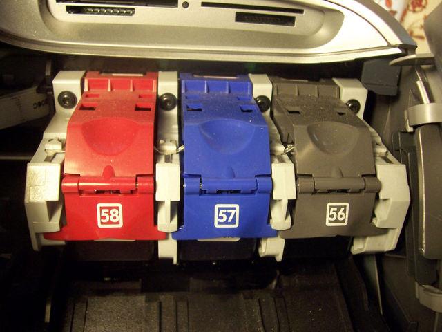 barvy v tiskárně